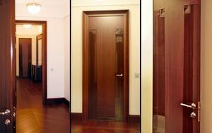 Двери светлый анегри в интерьере
