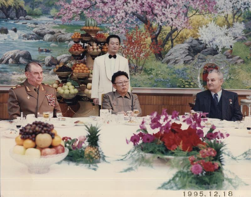 Корейские друзья маршала Язова